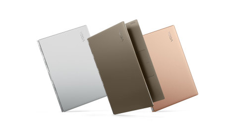 Yoga 920 in three new, bold colors (Photo: Business Wire)