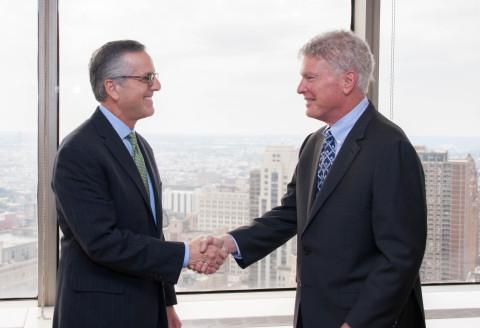 Barry F. Levin and Jeffrey B. Shapiro (Photo: Business Wire)