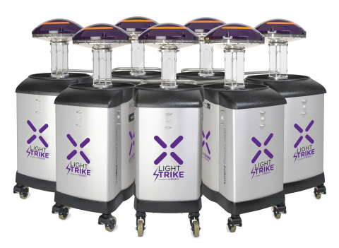 Ochsner Medical Center – Jefferson Highway is setting a new standard for patient care by deploying Xenex LightStrike Germ-Zapping Robots to improve patient safety and reduce the risk of hospital acquired infections. (Photo: Business Wire)