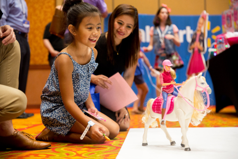 Walmart reveals the hottest toys for the holidays as rated by a panel of esteemed experts: kids. (Photo: Business Wire)