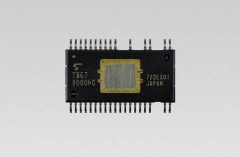 "Toshiba Electronic Devices & Storage Corporation: a new three-phase brushless fan motor driver ""TB67B000FG"" for air conditioners, air purifiers and other home appliances, and for industrial equipment. (Photo: Business Wire)"