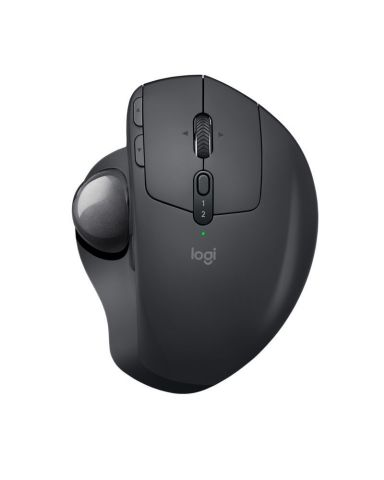 Logitech MX Ergo, an innovative new trackball offering ultimate comfort and precision tracking. (Pho ...