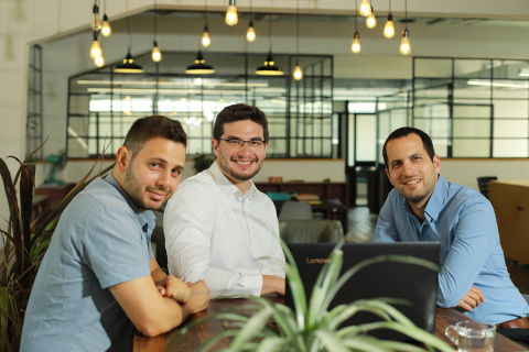 Axonius team. From left to right: Avidor Bartov, co-founder and CTO, Dean Sysman, co-founder and CEO, and Ofri Shur, co-founder and CPO. (Photo: Business Wire)