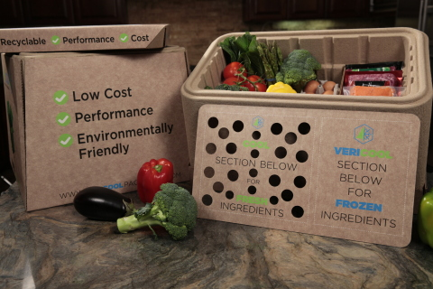 Vericool to expand manufacturing of recyclable and compostable cold chain packaging for pharma and food kit industries. (Photo: Business Wire)