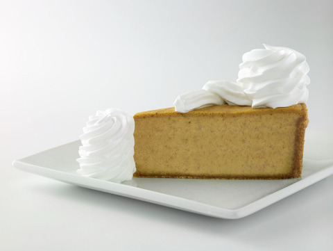 The Cheesecake Factory announces the return of its famous Pumpkin Cheesecake and Pumpkin Pecan Chees ...