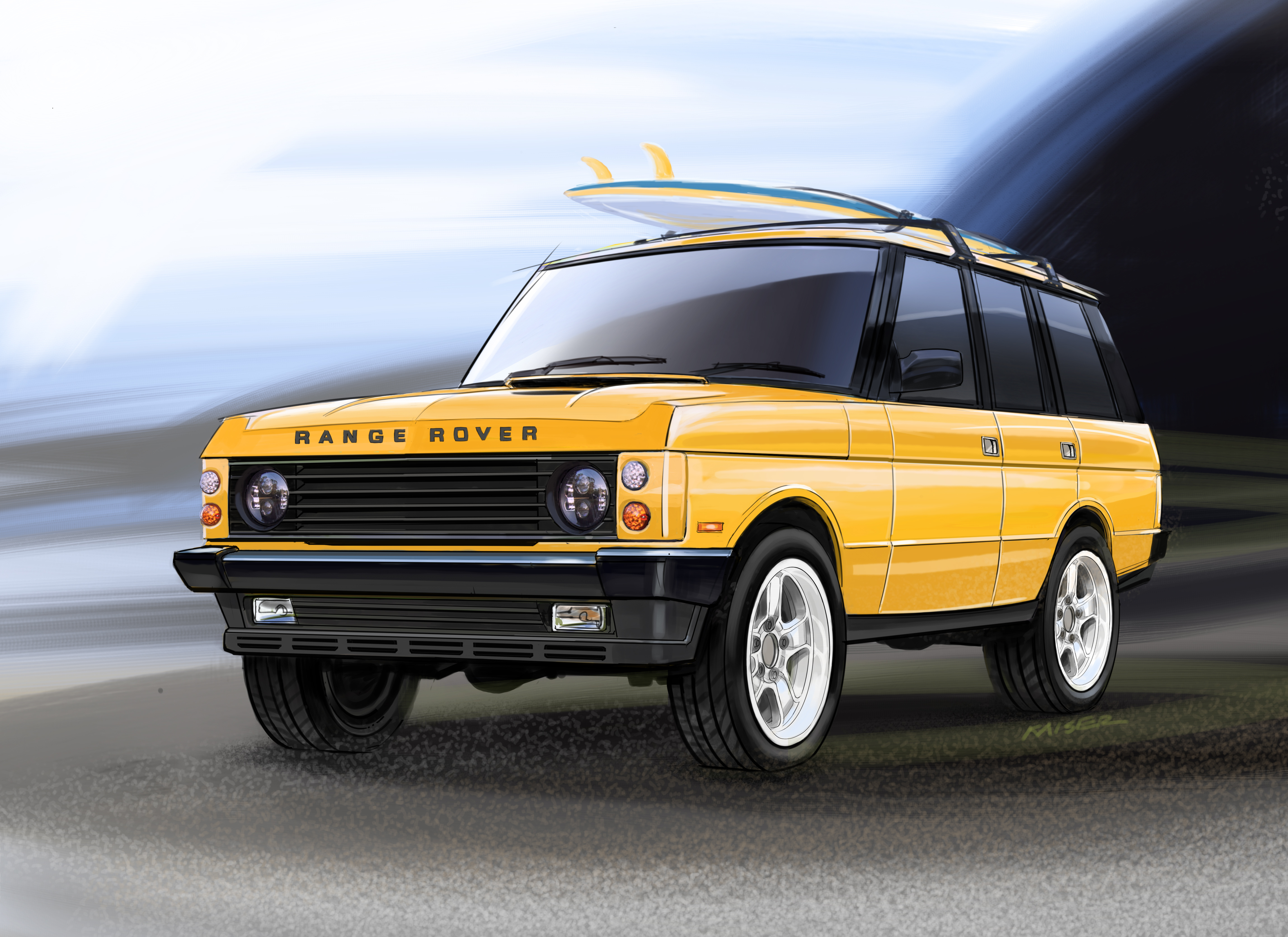 East Coast Defender To Ignite The Demand For The Ultimate Custom Range Rover Classic Business Wire