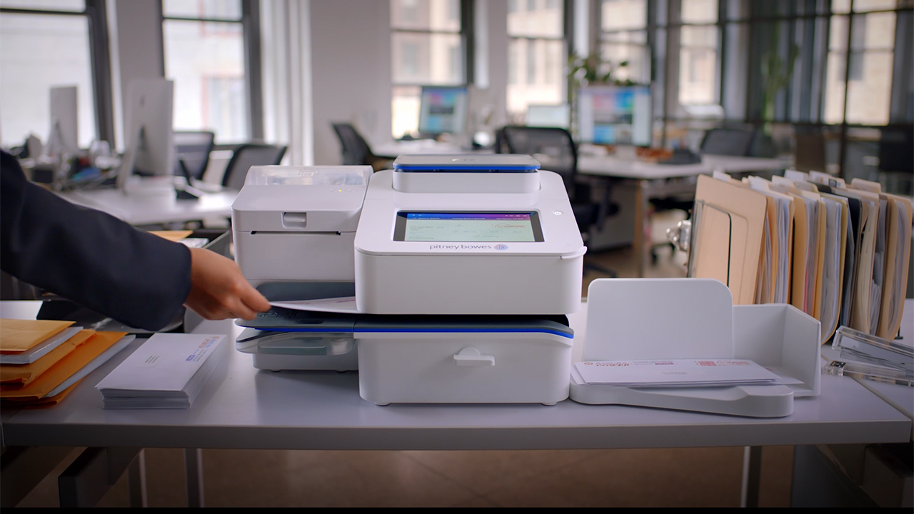 Pitney Bowes Reinvents Office Shipping And Mailing With