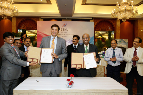 BSNL and Coriant Enter into Agreement to Chart Path to 5G and IoT in India (Photo: Business Wire)