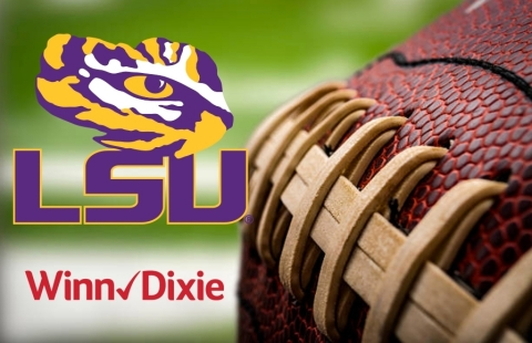 Winn-Dixie's partnership with LSU compliments grocer's 60 year heritage in Louisiana. (Photo: Business Wire)