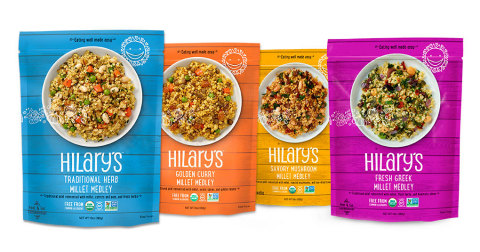 Hilary's Introduces New Culinary-Inspired Millet Medleys in Four Delicious Flavors at Natural Products Expo East 2017 (Photo: Business Wire)
