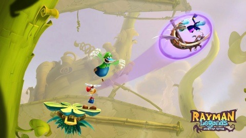 The Rayman Legends Definitive Edition game will be available on Sept. 12. (Photo: Business Wire)
