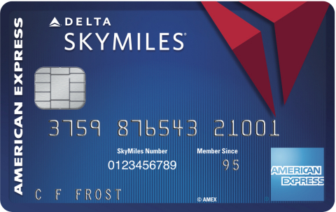 Blue Delta SkyMiles Credit Card from American Express (Graphic: Business Wire)