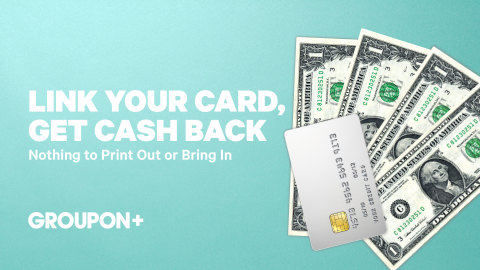 Groupon customers with an eligible Mastercard or Visa credit or debit card in these markets can now enroll for free and access offers of up to 30 percent cash back from purchases at more than 1,500 participating local restaurants and other neighborhood favorites––all without the hassles of a having to print out a piece of paper or hand over their phone. (Photo: Business Wire)