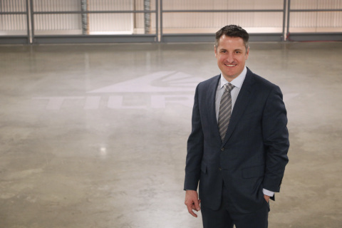 Tilray Chief Executive Officer Brendan Kennedy at the company's medical cannabis research and production facility in Nanaimo, British Columbia. (Photo: Business Wire)