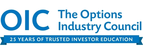 The Options Industry Council (OIC) today announced the kick-off of a yearlong celebration commemorating 25 years as the leading educational resource for investors who use or want to learn how to trade U.S. listed options. OIC's mission is to increase the awareness, knowledge and responsible use of exchange-listed equity options among a global audience of individual investors, financial advisors and institutional managers.