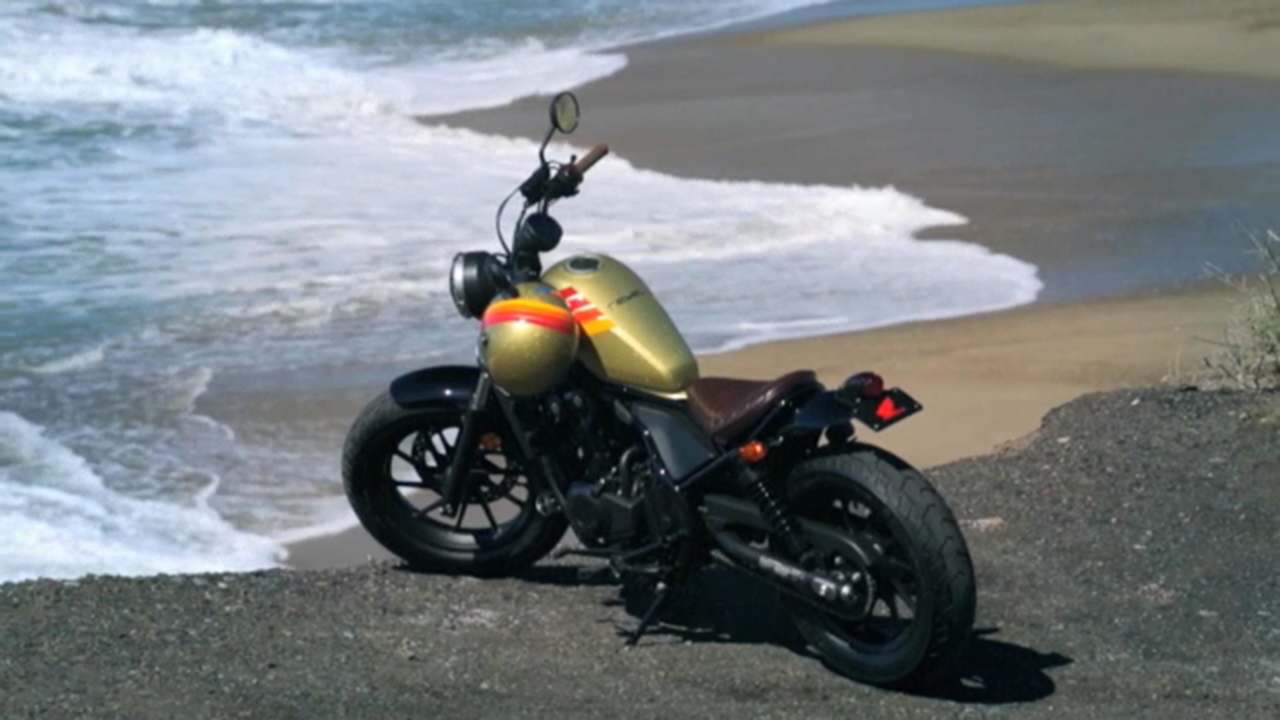Two Honda Rebel motorcycles customized by Aviator Nation are being given away in a special sweepstakes.