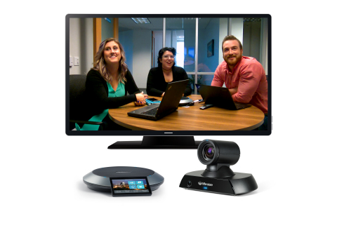 Lifesize Icon 450, Phone HD and HD video conference call (Photo: Business Wire)