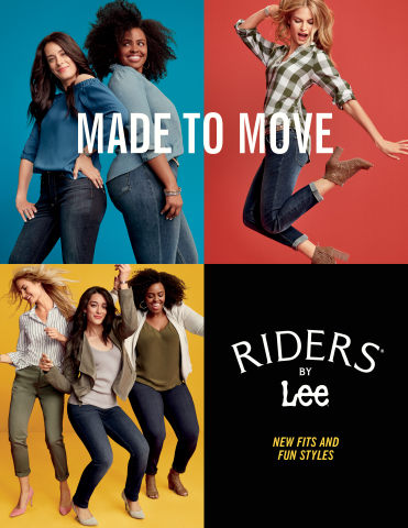 Riders by Lee Made to Move Campaign (Photo: Business Wire)