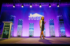 Radian Vice President of National Training Kate Raetsch hosts presentation at NAHREP's 2017 Elevate Summit (Photo: Business Wire)