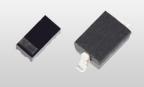 東芝デバイス&ストレージ(株):モバイル機器などの電源(USB/電源コネクタ)ラインの保護に適したTVSダイオード「DF2SxxP2シリーズ」  (左: SOD-963(CST2C), 右: SOD-323(USC)) (写真:ビジネスワイヤ)