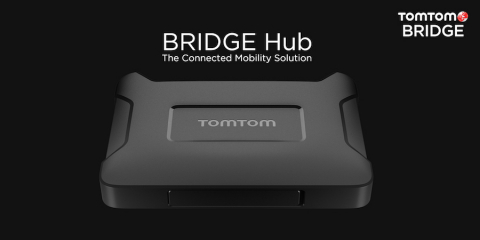 TomTom launches TomTom BRIDGE Hub – the next-level solution for connected mobility (Photo: Business Wire)