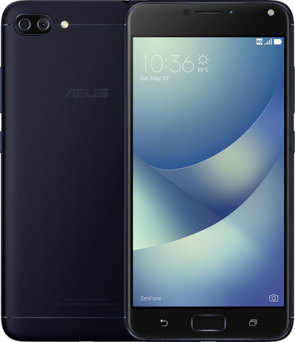 ASUS Announces the ZenFone 4 Series in Canada and the U.S., ZenFone 4 Max Available Today (Photo: Bu ...
