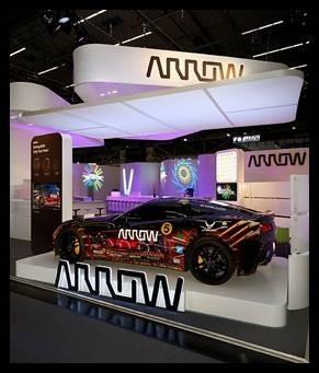 The Arrow semi-autonomous motorcar (SAM Car) will be on display at Mobile World Congress Americas. ( ...