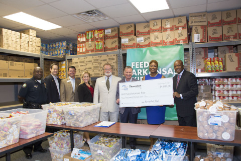 FHLB Dallas and BancorpSouth Bank awarded $4,000 in Partnership Grant Program funds to Feed Arkansas Kids, which will help fund a new shelter for homeless women and children. (Photo: Business Wire)