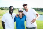 (Left-to-right) Reggie Bush, Ryan Sheckler and Klay Thompson (Photo: Business Wire)