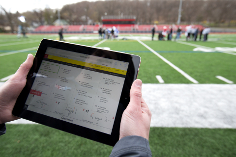 Launching in spring 2018, Your Call Football (YCF) is a groundbreaking platform that lets fans call plays in real, live football games. (Photo: Business Wire)