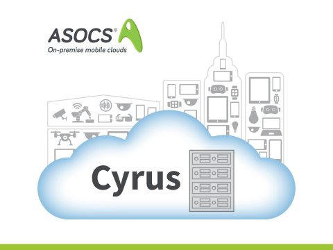 ASOCS' Cyrus is an on-premise edge cloud for enterprises that provides unlimited mobile capacity and secure connectivity, while collecting and analyzing mobile device and IoT data. (Photo: Business Wire)