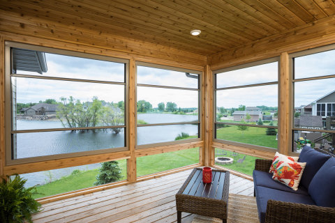 Scenix Porch Window with Retractable Screens (Photo: Business Wire).