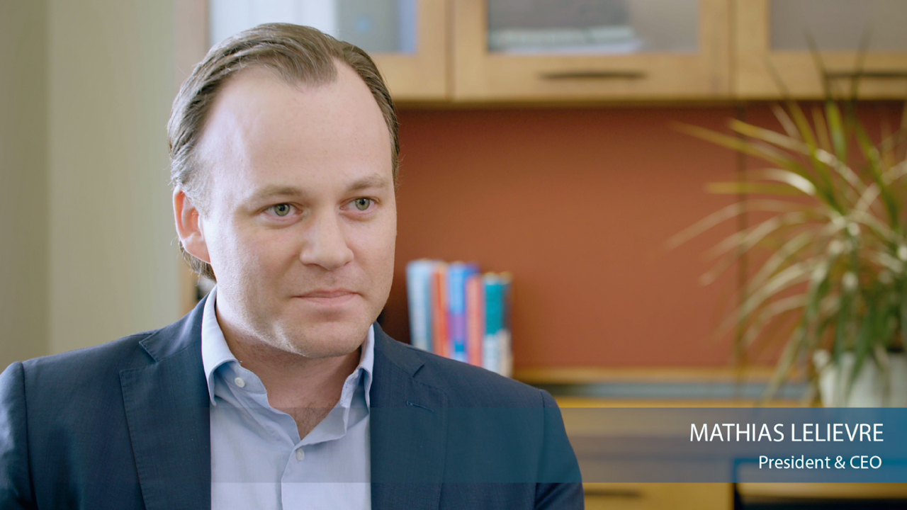 To learn more about Mathias Lelievre and his vision for Ecova, please view this informal video.