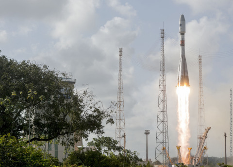 SES Selects Arianespace and Soyuz for its Fifth MEO Launch (Photo: Business Wire)