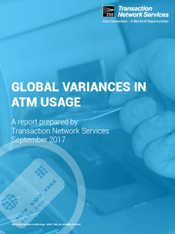TNS Report Uncovers Significant Differences in ATM Usage Globally (Graphic: Business Wire)