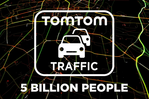 TomTom Traffic Can Now Reach 5bn People Worldwide (Photo: Business Wire)
