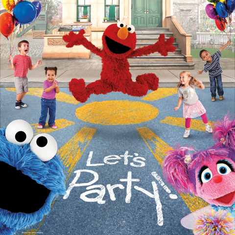 Everyone's invited to take part in the sunniest and funniest street celebration in the all new highly interactive live touring show, Sesame Street Live! Let's Party! Tickets are on-sale now for all 2017 engagements at SesameStreetLive.com. (Photo: Business Wire)