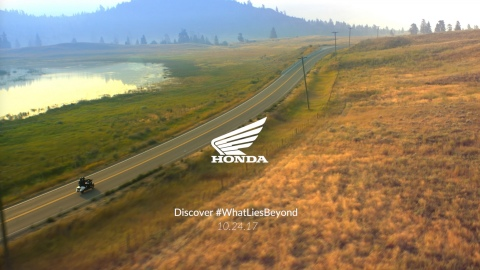 American Honda recently launched a five-video series intended to drive excitement surrounding the autumn global unveiling of an important 2018 motorcycle model. (Photo: Business Wire)