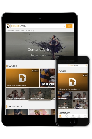 Demand Africa, New Streaming Service Launching on October 1, to Use Brightcove OTT Flow (Photo: Business Wire)