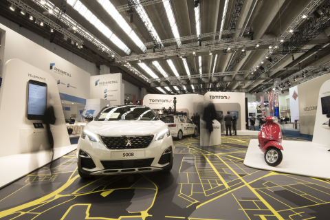 TomTom Gets Set for the Future of Driving at IAA Frankfurt 2017 (Photo: Business Wire)
