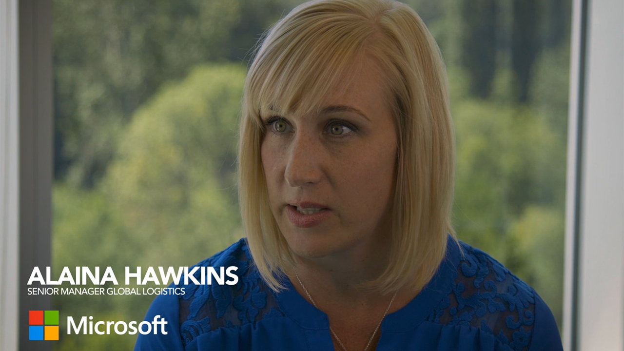 Microsoft shares how they transformed their global supply chain with Navisphere Vision.