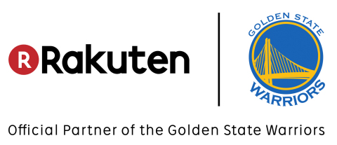 The NBA Champion Golden State Warriors and Rakuten, Inc. today announced a multi-year partnership to include the Rakuten logo as a badge on all Warriors jerseys beginning in the 2017-18 NBA season. (Graphic: Business Wire)