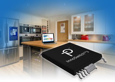 新しい InnoSwitch™3 スイッチング電源用 IC は、電力損失を 25% 削減し、 広範囲な入力と負荷の条件において一定の電源効率を実現します。 (画像:ビジネスワイヤ)