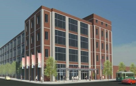 The 5-story Lowenstein Building, built in stages in 1939 and 1954, is one of the last remaining structures from the original textile plant, which operated from 1929 to 1998. (Photo: Business Wire)