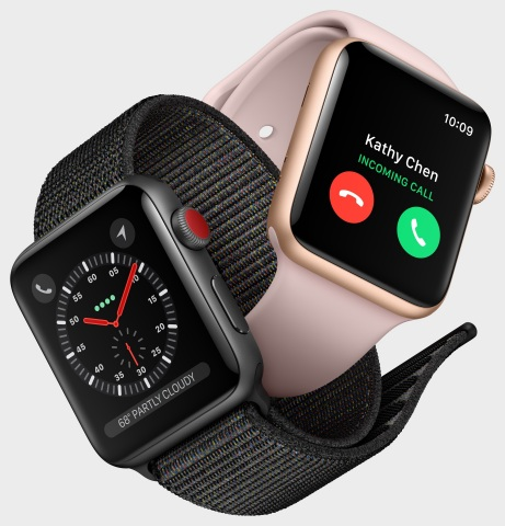 Apple Watch Series 3 brings built-in cellular, powerful new health and fitness enhancements. (Photo: Business Wire)