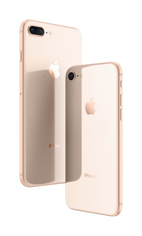 iPhone 8 and iPhone 8 Plus: A new generation of iPhone. (Photo: Business Wire)