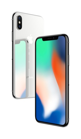 The future is here: iPhone X. (Photo: Business Wire)