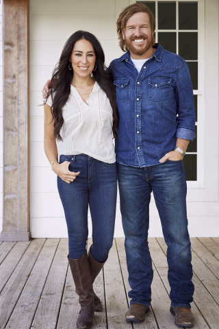 Photo: Chip and Joanna Gaines (Photo: Business Wire)
