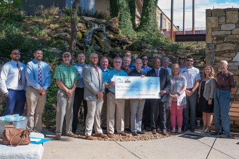 FHLB Dallas and Merchants and Planters Bank partnered to award $16,000 in grant funds to Main Street Batesville. (Photo: Business Wire)