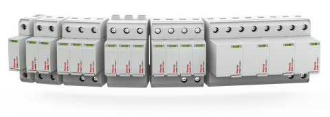 Raycap's new low voltage DIN Rail product line (Photo: Business Wire)